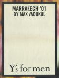 Y's Marrakech'01
