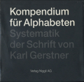Karl Gerstner: Kompendium fur Alphabeten