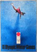 札幌オリンピック公式ポスター 第3号 [B1] 亀倉雄策