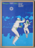 Otl Aicher ポスター Munnich 1972 Olympic Games [額付]