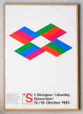 Max Bill Poster: Designer Saturday