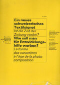 Typografische Monatsblatter / TM  各号