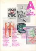 I love Type Series. Volume 1: I love Futura
