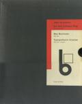 Max Burchartz 1887-1961, Typografische Arbeiten 1924-1931 [Reprint]