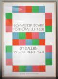 Schweizerisches ton Kunstler Fest max bill