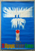札幌オリンピック公式ポスター [B1] 細谷巖