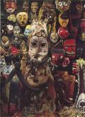 世界の仮面と神像