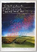 Saul Bass ポスター Sinfonia Varsovia World tour 1987