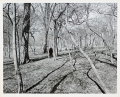 """Harry Callahan Original Print """"Eleanor, Chicago, 1952"""" with Student Independent 2"""