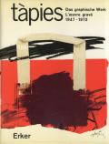 tapies das graphische werk l'oeuvre grave 1947-72