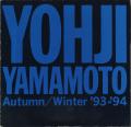 Yohji Yamamoto Autumn/Winter '93-'94