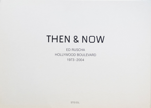 Ed Ruscha: Then & Now, Hollywood Boulevard 1973-2004