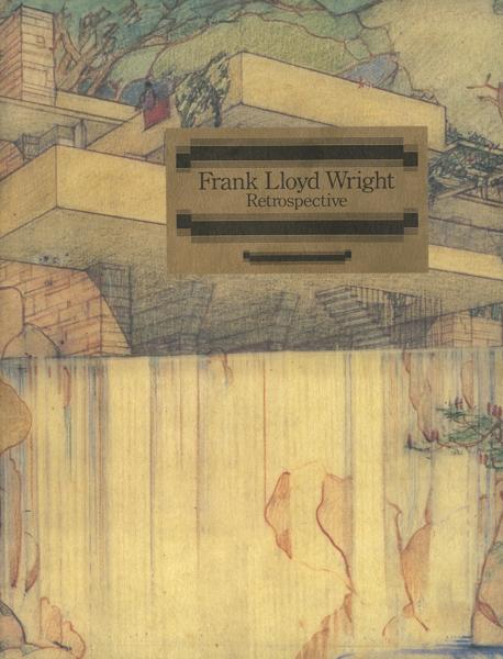 フランク・ロイド・ライト回顧展 図録