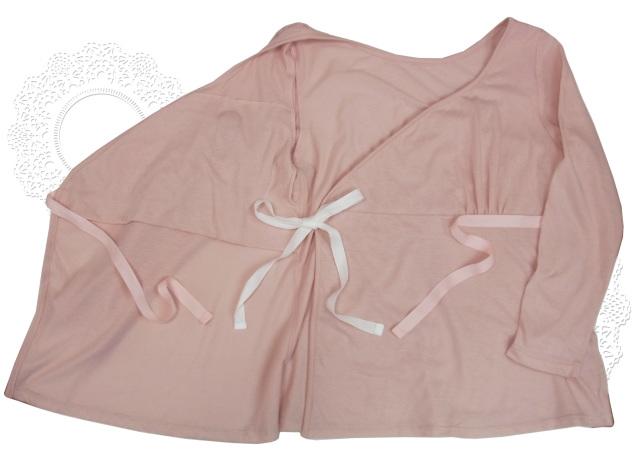乳がん 前開き肌着カップ付き レディース カシュクール