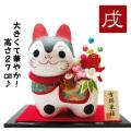 置物 干支 戌 イヌ 犬 2018 平成30年 正月飾り リュウコドウ 和紙 可愛い 狛犬 大きめ