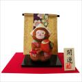 干支・申年 「小槌申 」 龍虎堂 ちりめん  正月飾り 日本製 干支置物 開運