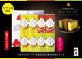 美味呈上8個詰め合せ【プレーン×4  チョコレート×2  抹茶×2 】 ※お好きな内容(フレーバー)を自由に組み合わせできます。