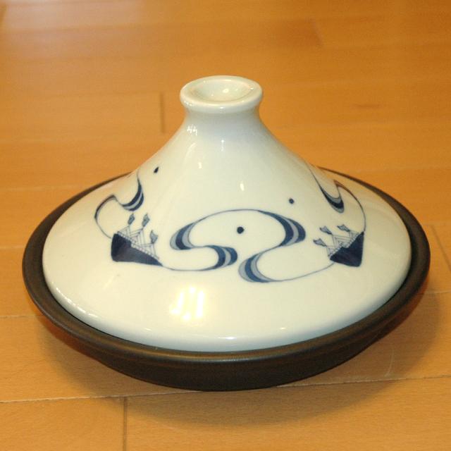 青花タジン鍋