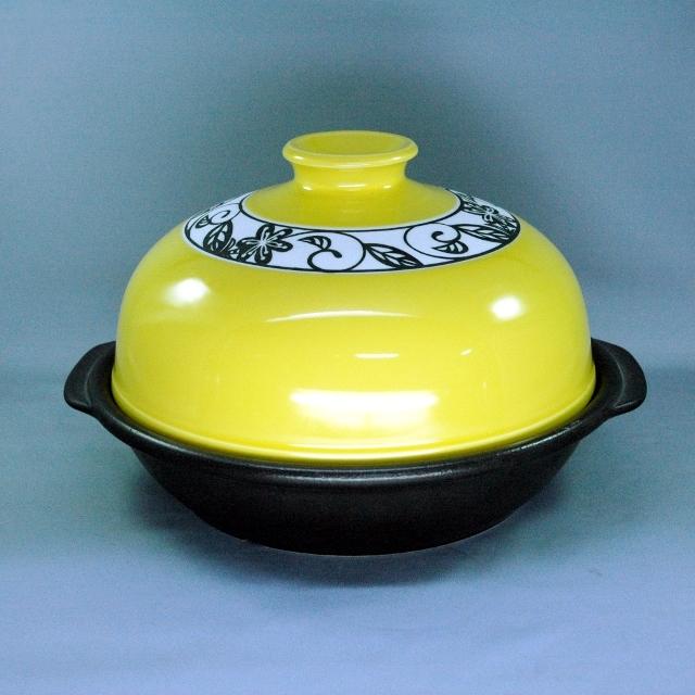 BIGドーム型タジン鍋(黄花かれん)