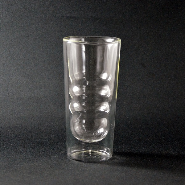 ダブルウォールグラス 300(ウェーブ)