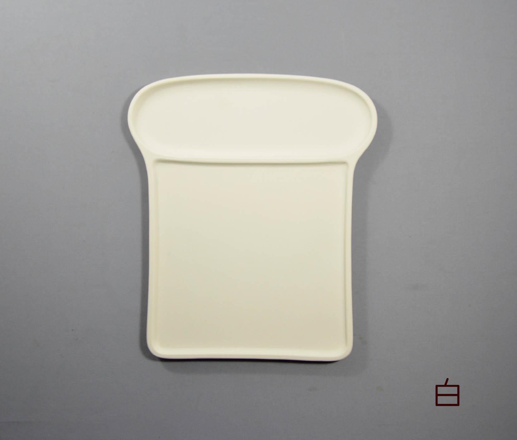からっとパン皿(白)