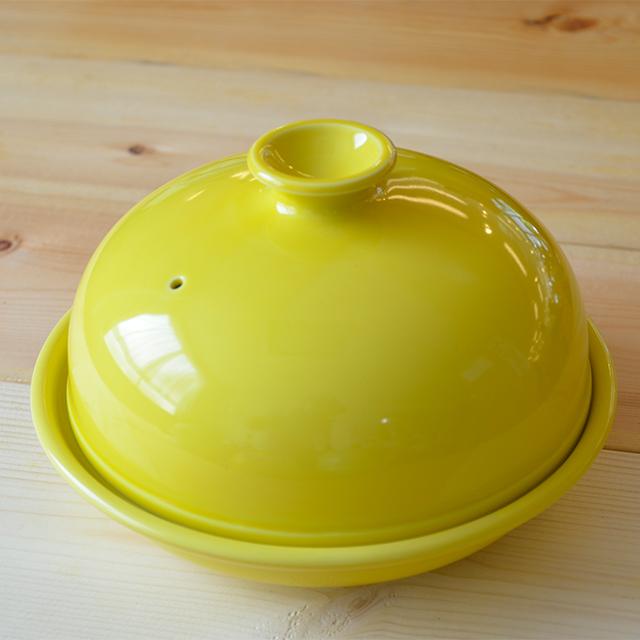 レンジ専用ドーム型タジン鍋(レモン)