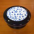 セラミックスおひつ1.5合(花うさぎ)