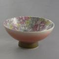 肥前花の舞茶碗 オペラP(ピンク吹き)