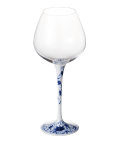 ハイレッグワイングラス(染付華唐草)