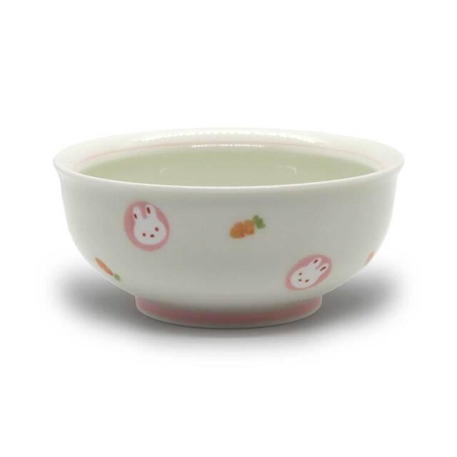 有田焼 色絵 子供食器 ミニうさぎ 小鉢