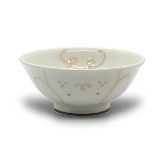 有田焼 色絵 子供食器 コパン めし碗