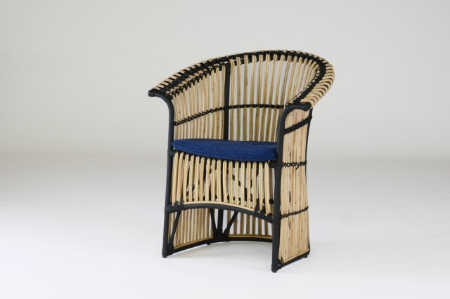 籐・ラタンのリビングダイニングチェア/椅子//W740XD600XH780XSH480/送料無料/KZR-0258-07