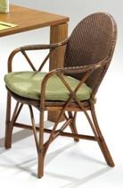 【新製品】籐・ラタンのマルシェリビングダイニングチェア/椅子//W58XD64XH85XSH44/送料無料/KZR-536-79