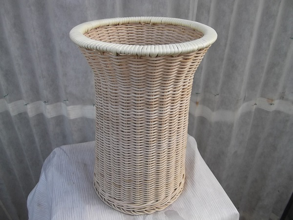 【受注生産】国産籐・ラタンのフリーバスケット[KI-759]