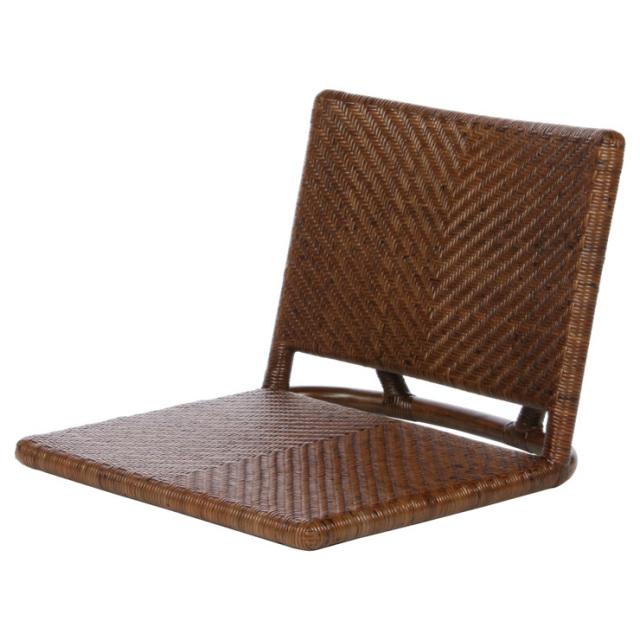 座椅子 YR-SF-006-RB サイズ(cm)W:51 D:57 H:40 | 天然ラタン | 【受注生産 | 送料無料】