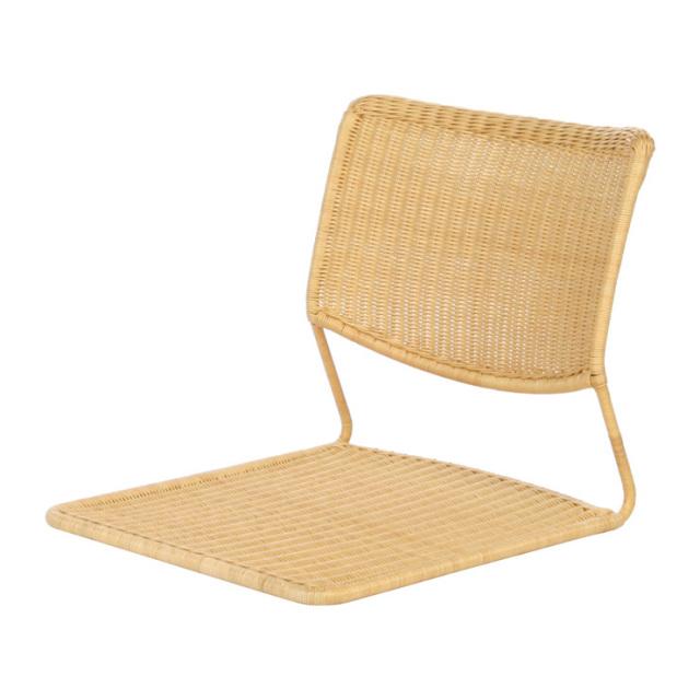 芯籐で編んだ座椅子 YR-SF-011 サイズ(cm)W:46 D:57 H:45 | 天然ラタン | 【受注生産 | 送料無料】