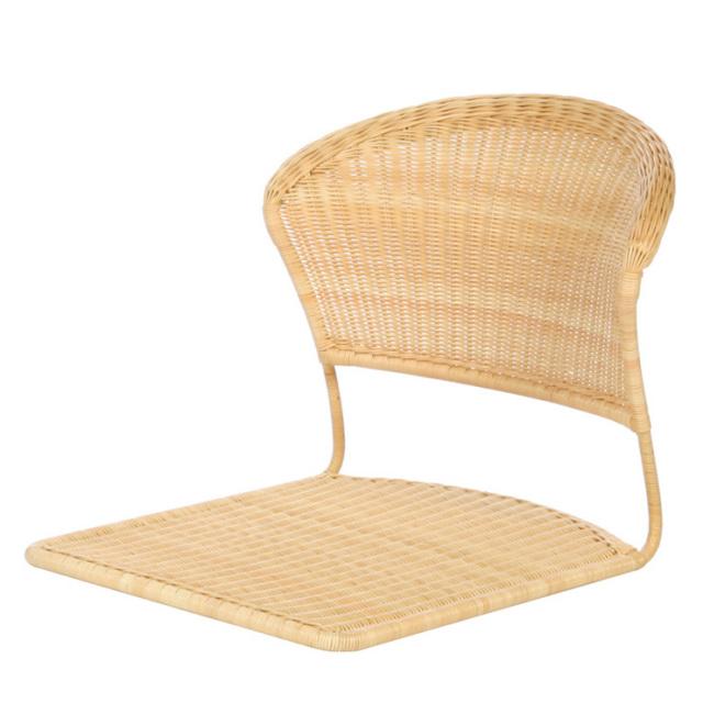 背あたりが優しい座椅子 YR-SF-013 サイズ(cm)W:51 D:57 H:47.5 | 天然ラタン | 【受注生産 | 送料無料】