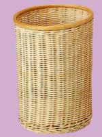 【受注生産】国産籐・ラタンのフリーバスケット[KI-140]