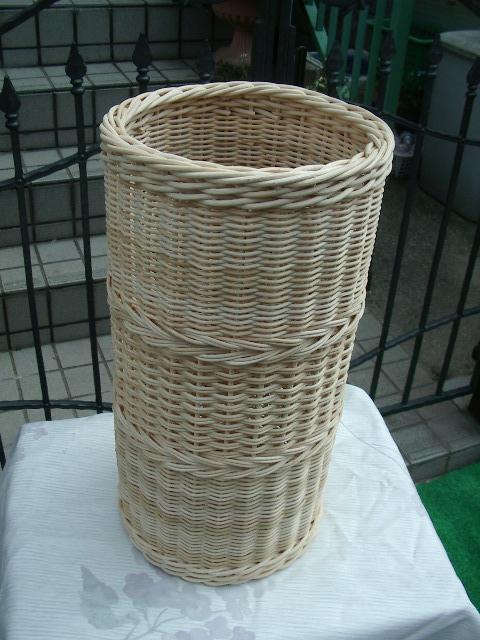 【受注生産】国産籐・ラタンのフリーバスケット[KI-740]
