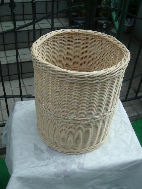 【受注生産】国産籐・ラタンのフリーバスケット[KI-741]