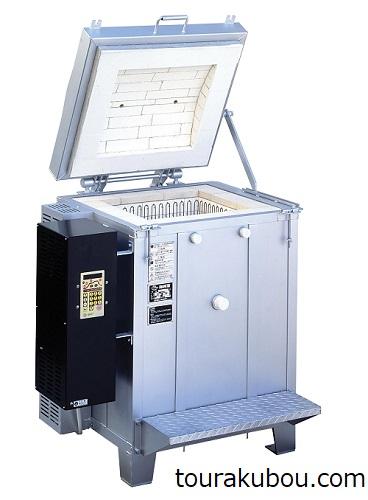 日本電産 シンポ 上扉式電気窯 DME-13A型 マイコン付