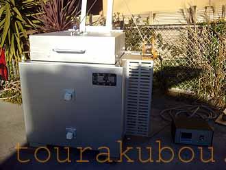 【中古】 電気窯『AC-4』 2001年製 200V単相 フルセット<商談中△>
