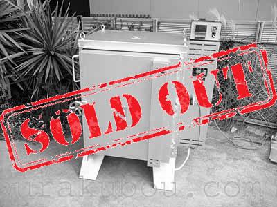 【中古】 電気窯『TRB-J8V』 2007年製 200V単相 フルセット<売約済×>