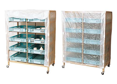 粘土作品乾燥棚3型・養生用ビニールカバー付
