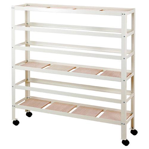 粘土板収納兼用作品乾燥棚(組立式) DX型(粘土板30枚付)