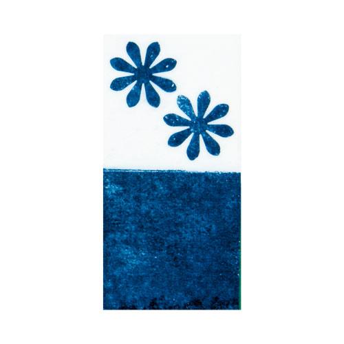 下絵用無地カラ―転写紙 藍