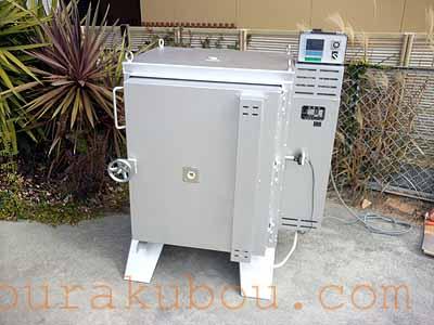 【中古】 電気窯『TRB-J8V』 2007年製 200V単相 フルセット<入荷○>