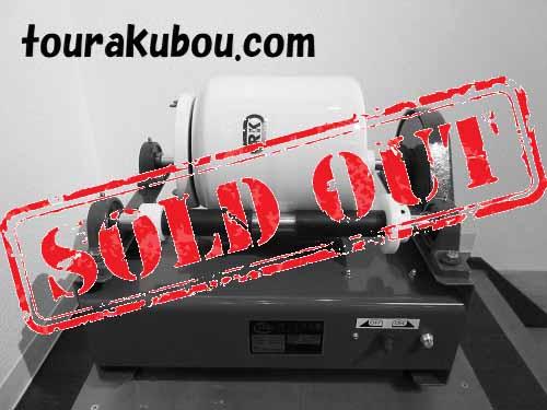 【新古】シンポ ポットミル機 PTA-1 2009年製 +ポットミル容器φ210mm 3L(磁器玉付き)未使用<売約済>
