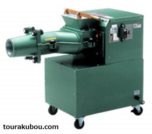 【林田鉄工】常圧式土練機 KM-400シャフトル 鋳物羽根