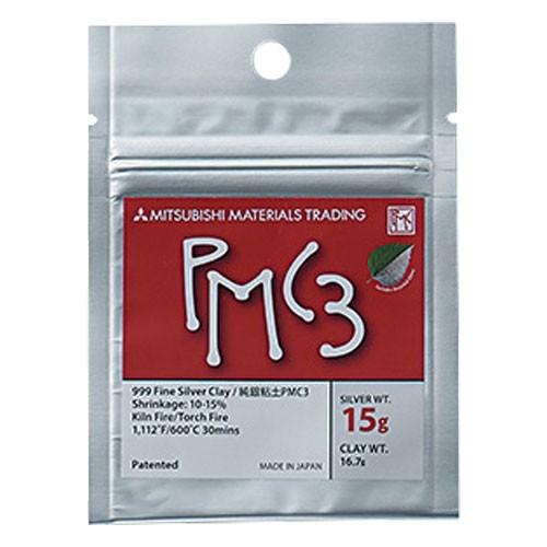 純銀粘土PMC3(600℃焼成タイプ)15g